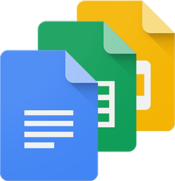 Google Docs, Slides and Sheets